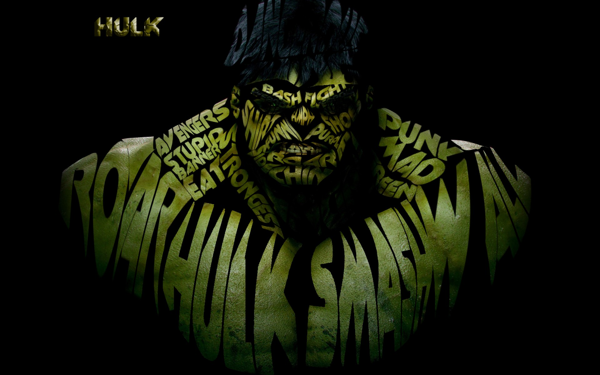 Incredible Hulk Marvel Avenger Superhero Background Desktop Hd Wallpaper
