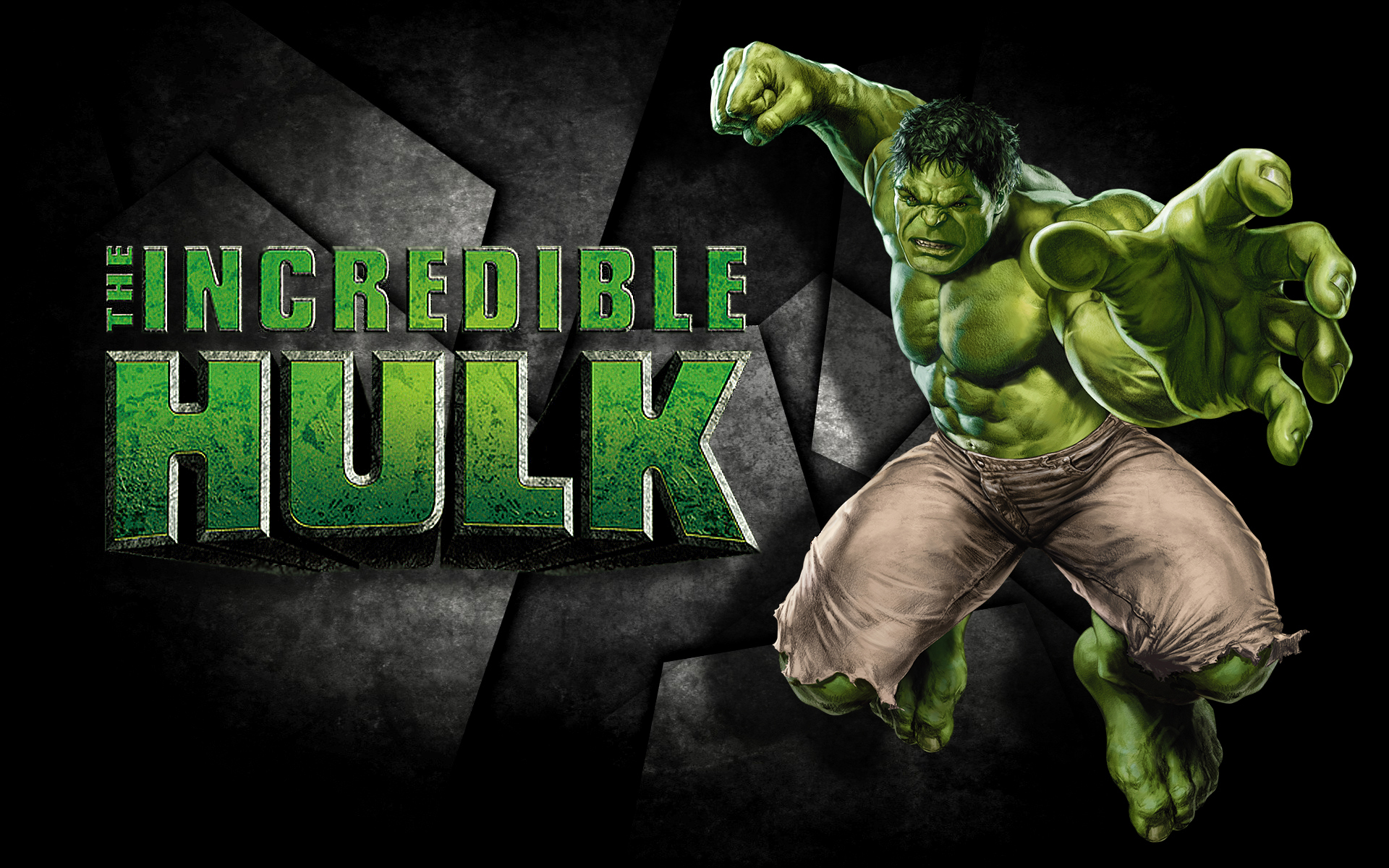Incredible Hulk Marvel Avenger Superhero Pc Background Hd Wallpaper