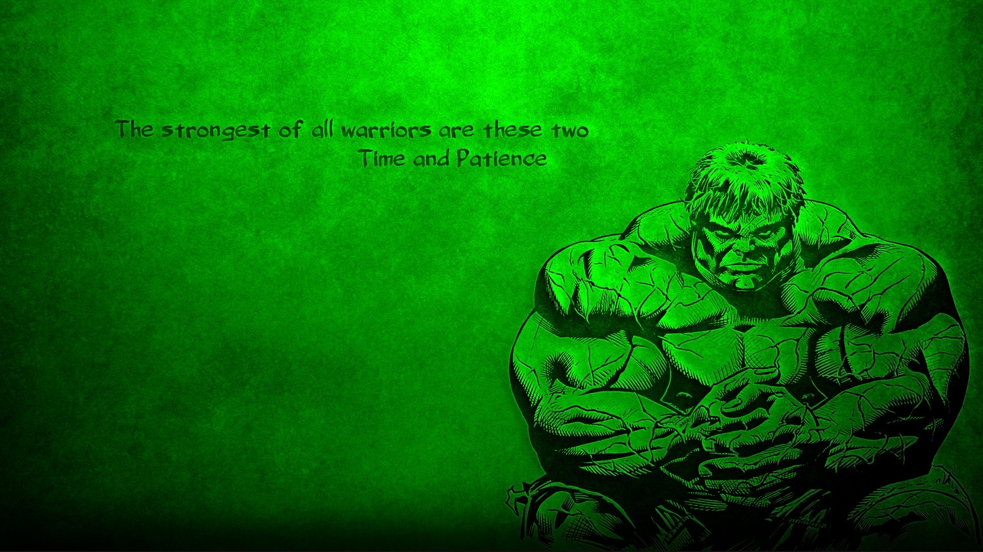 incredible strongest warrior hulk quotes marvel avenger background hd wallpaper