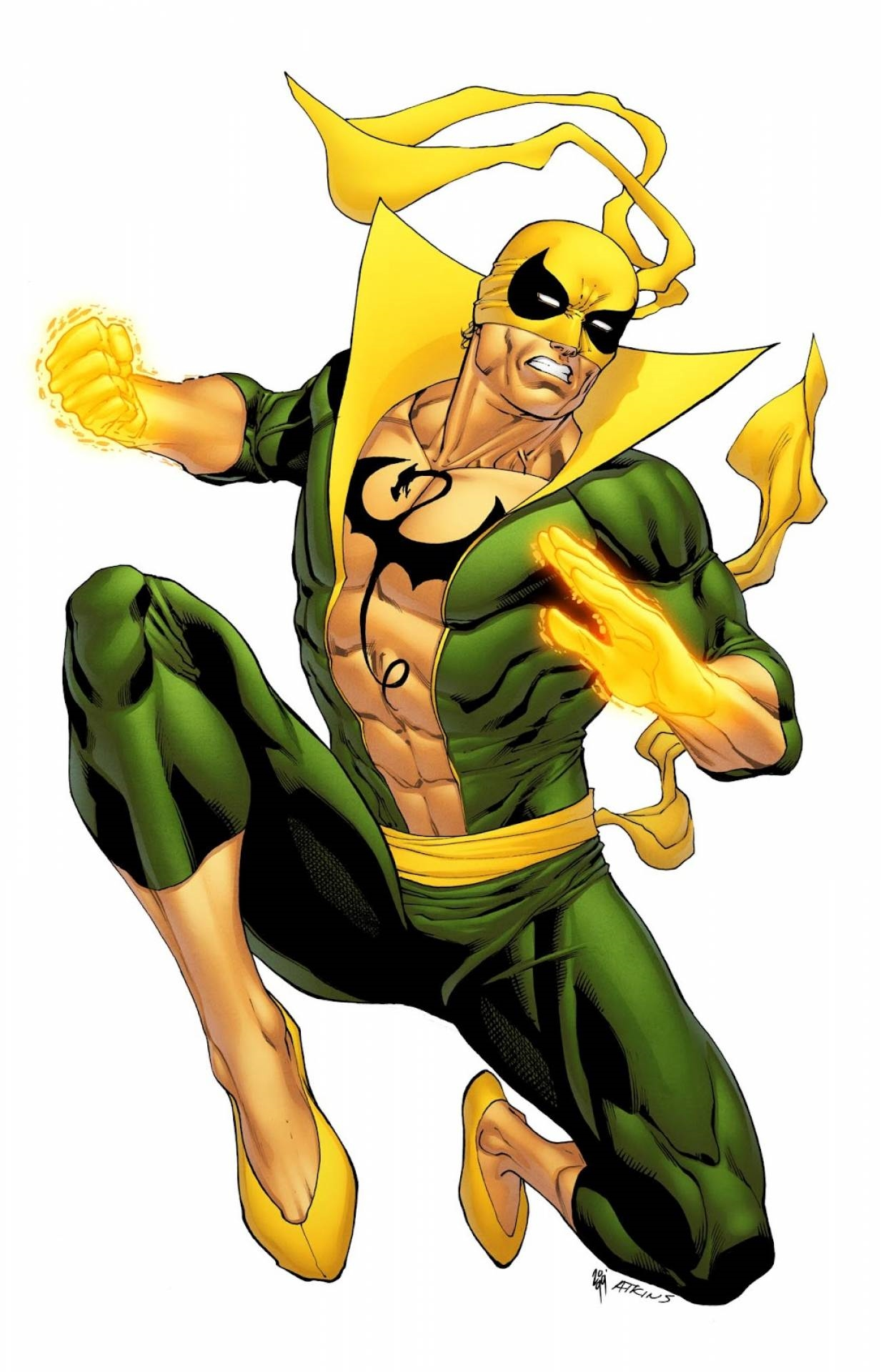 iron fist marvel hd wallpaper