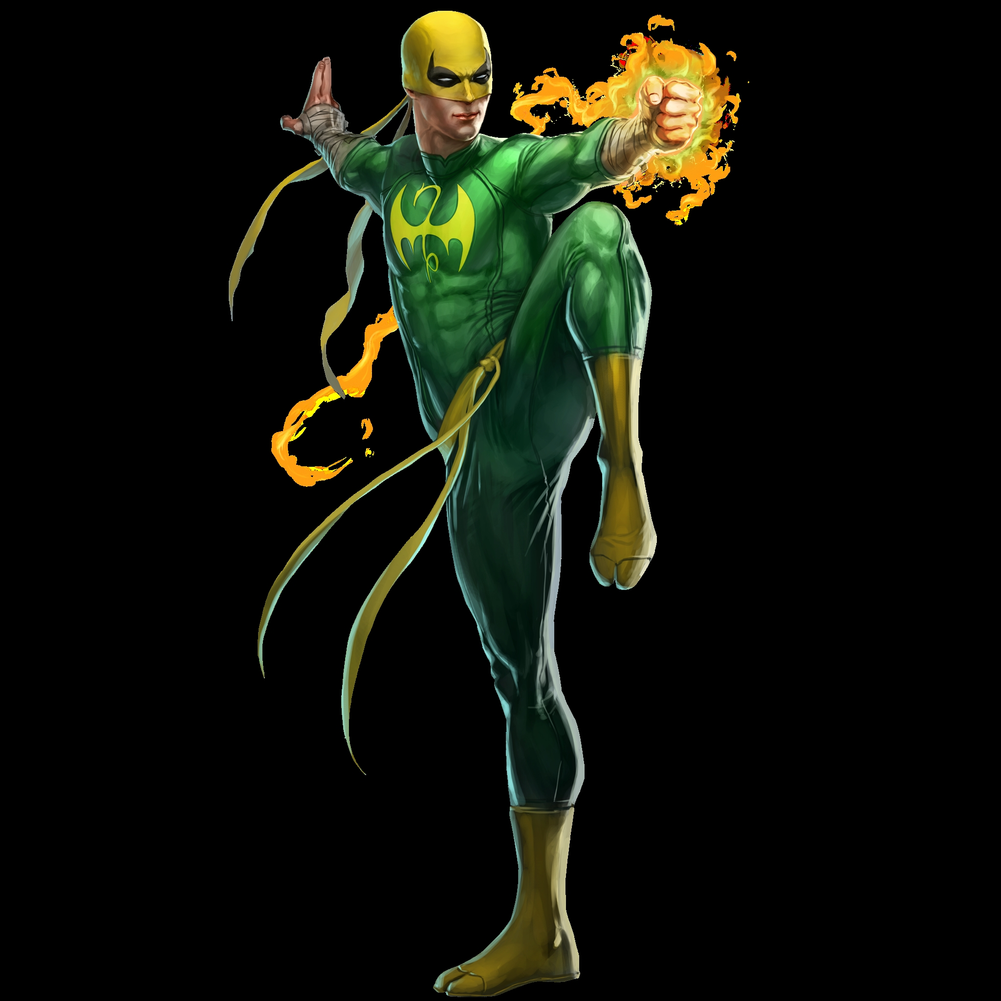 iron fist wallpaper hd