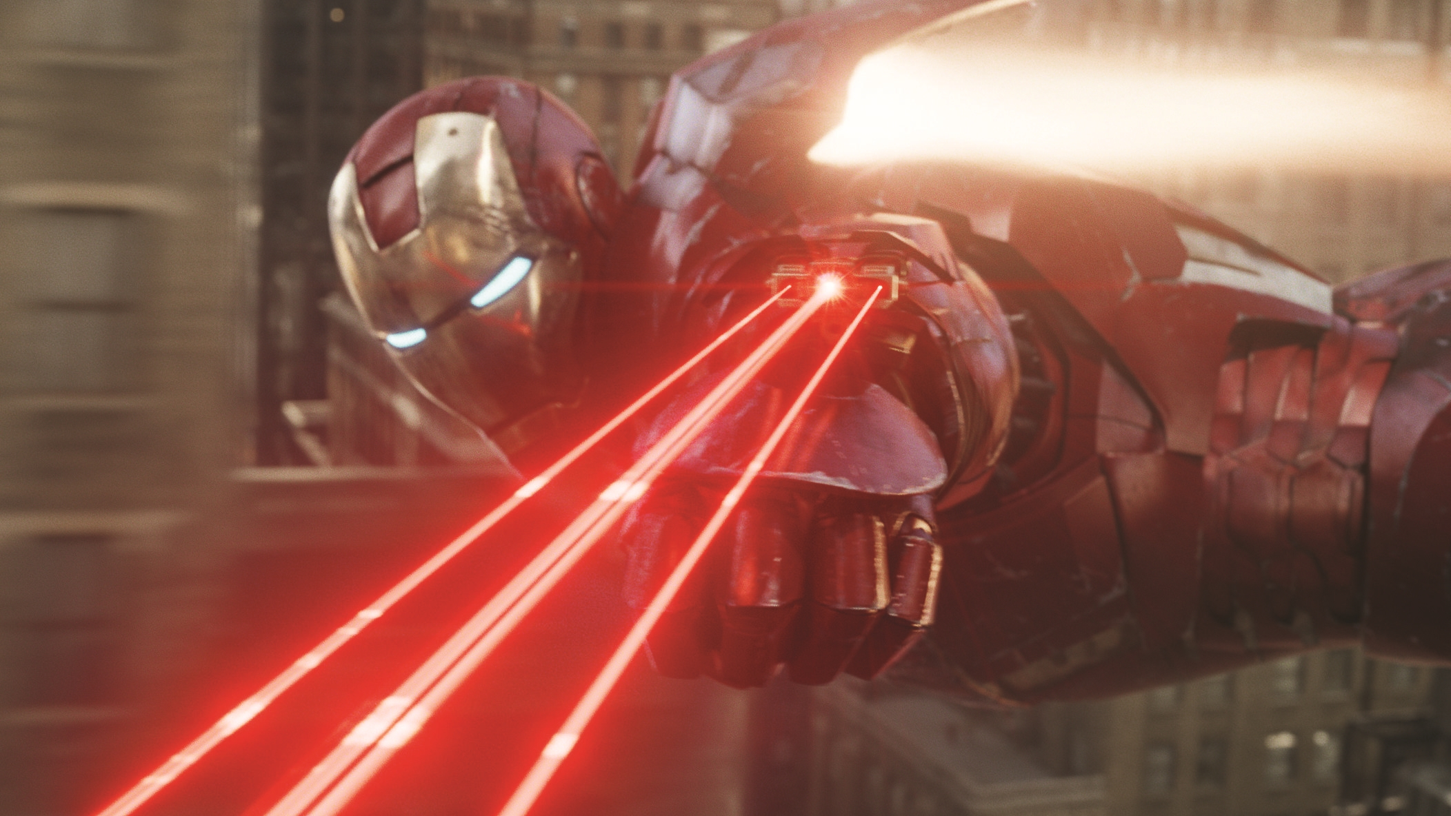 iron man laser wallpaper