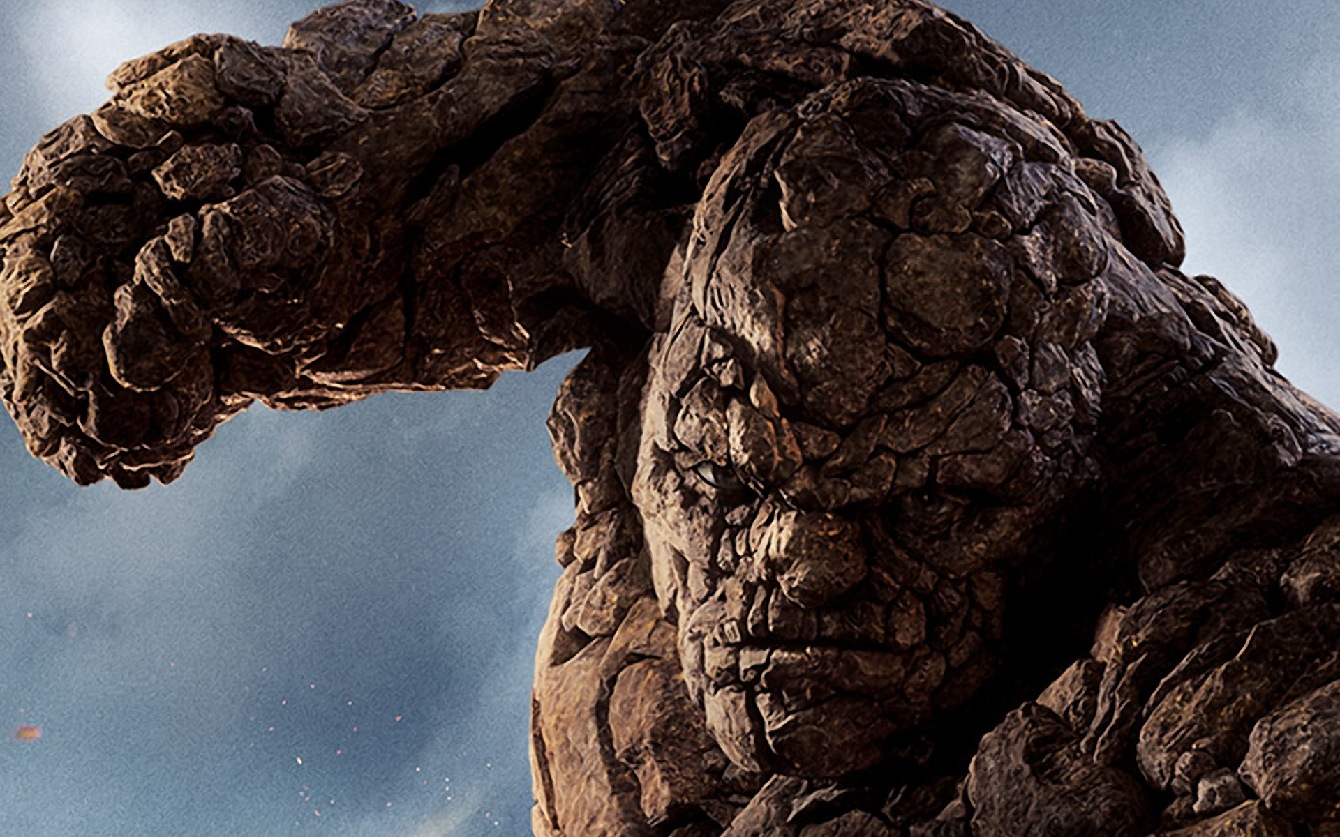 jamie bell as the thing in fantastic 4 poster wallpaper
