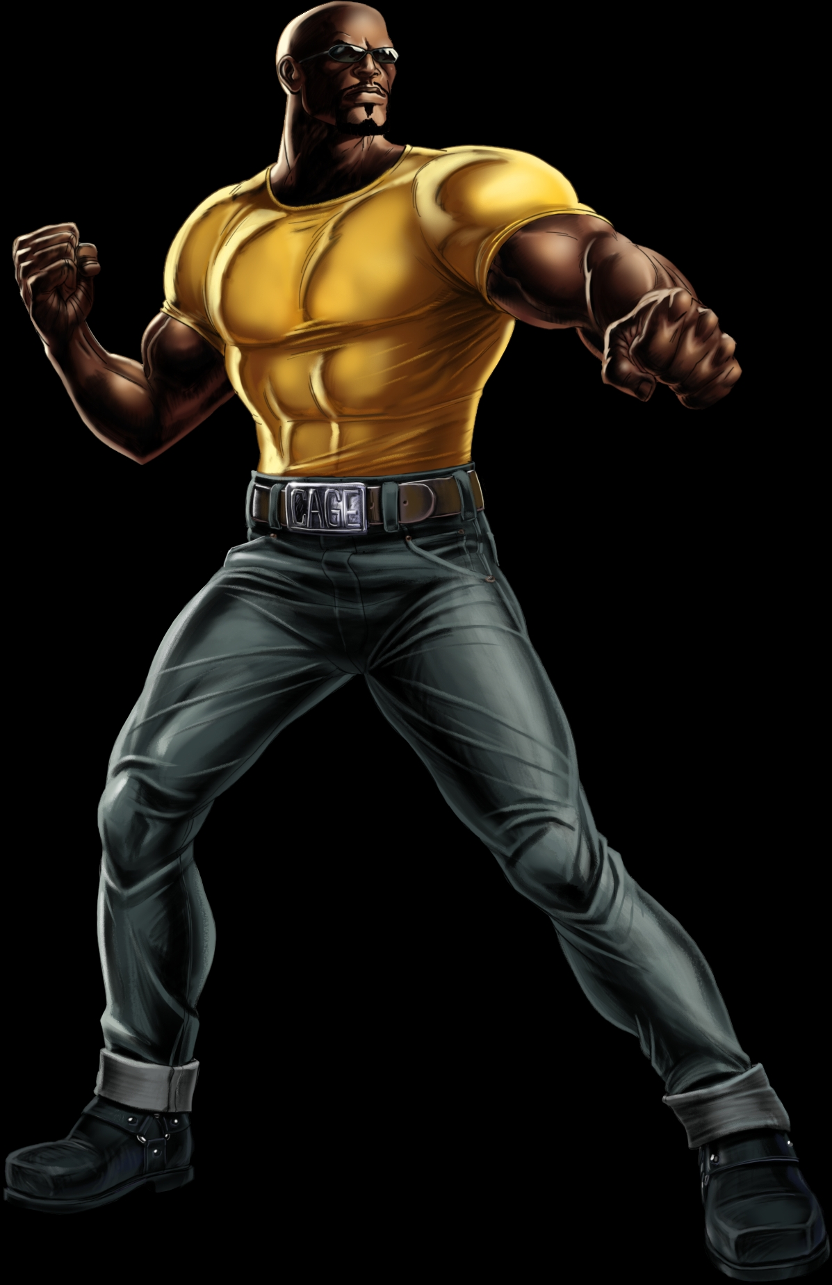 luke cage hd marvel wallpaper