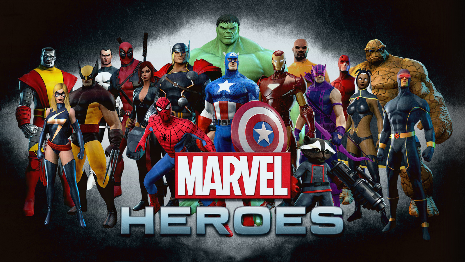 marvel avengers team super heroes pc background hd wallpaper