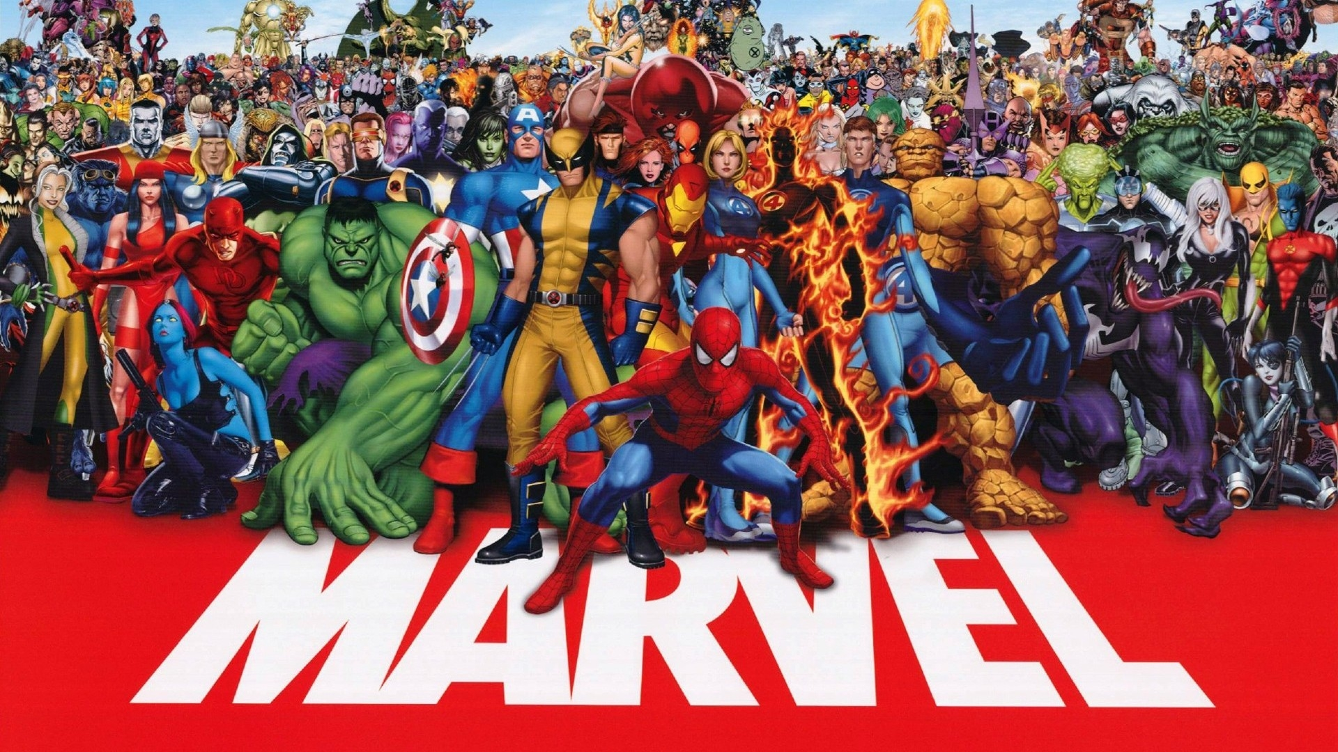 Gambar Anime Marvel Avengers Desktop Wallpaper