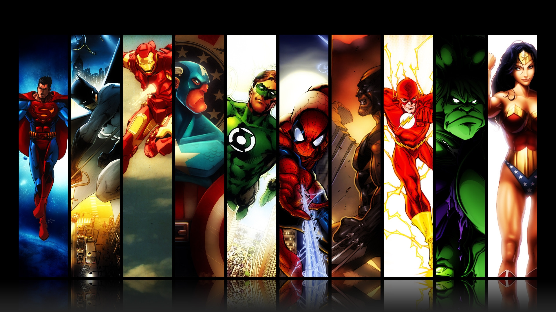 marvel dc comic images siper heroes
