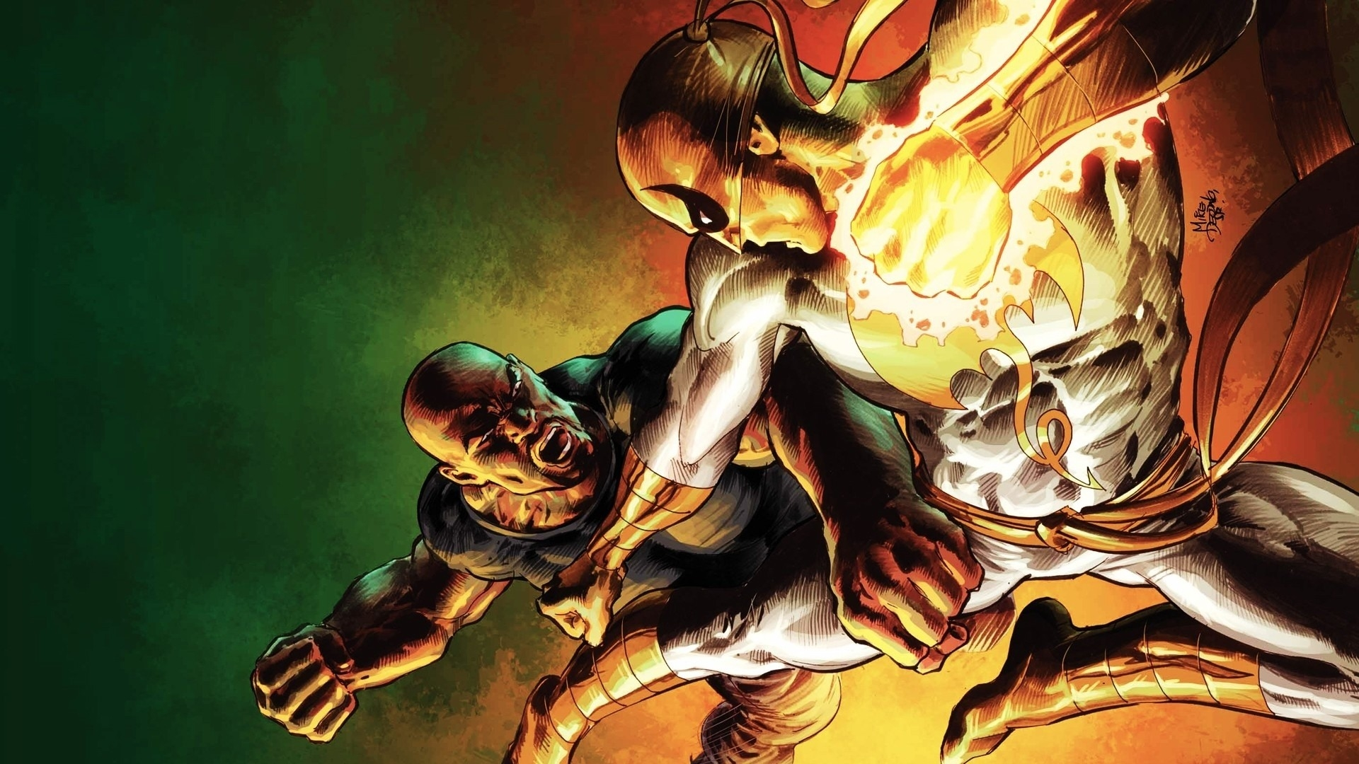 marvel iron fist wallpaper