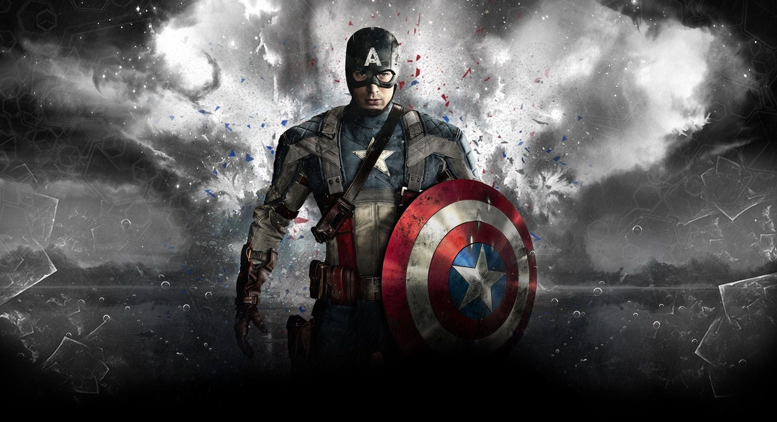 Marvel Super Hero Captain America First Avenger Background Hd