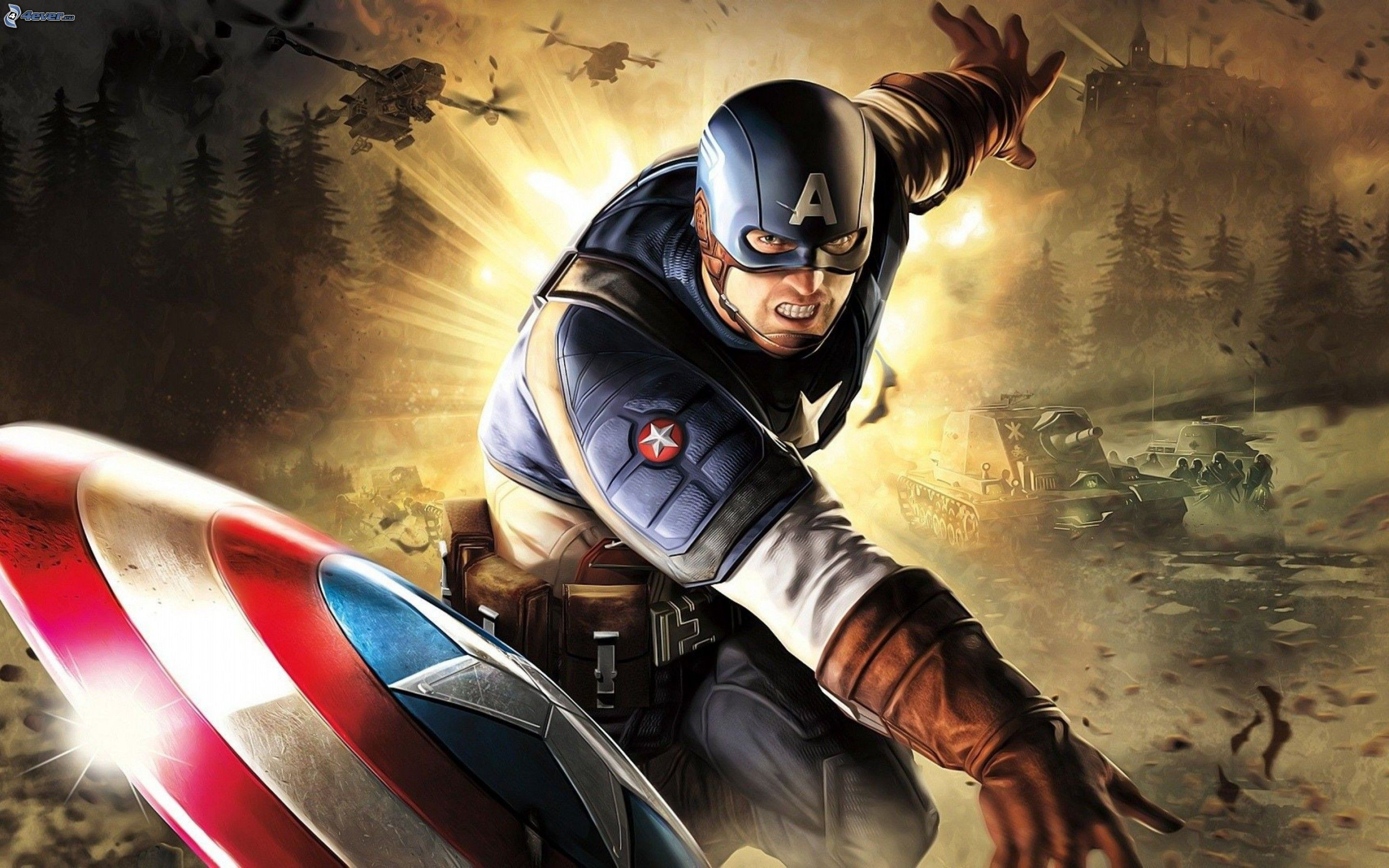 marvel super hero captain america first avenger desktop hd wallpaper
