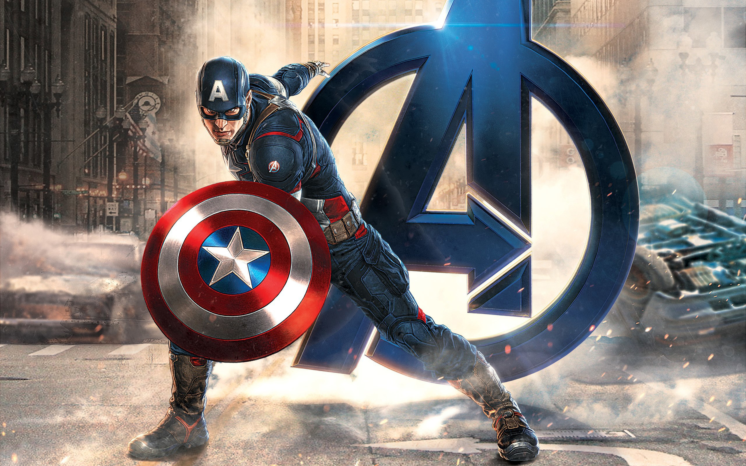 marvel super hero captain america first avenger wide hd wallpaper