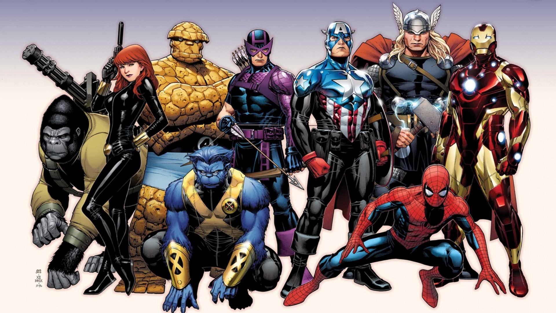 marvel super heros hd wallpaper