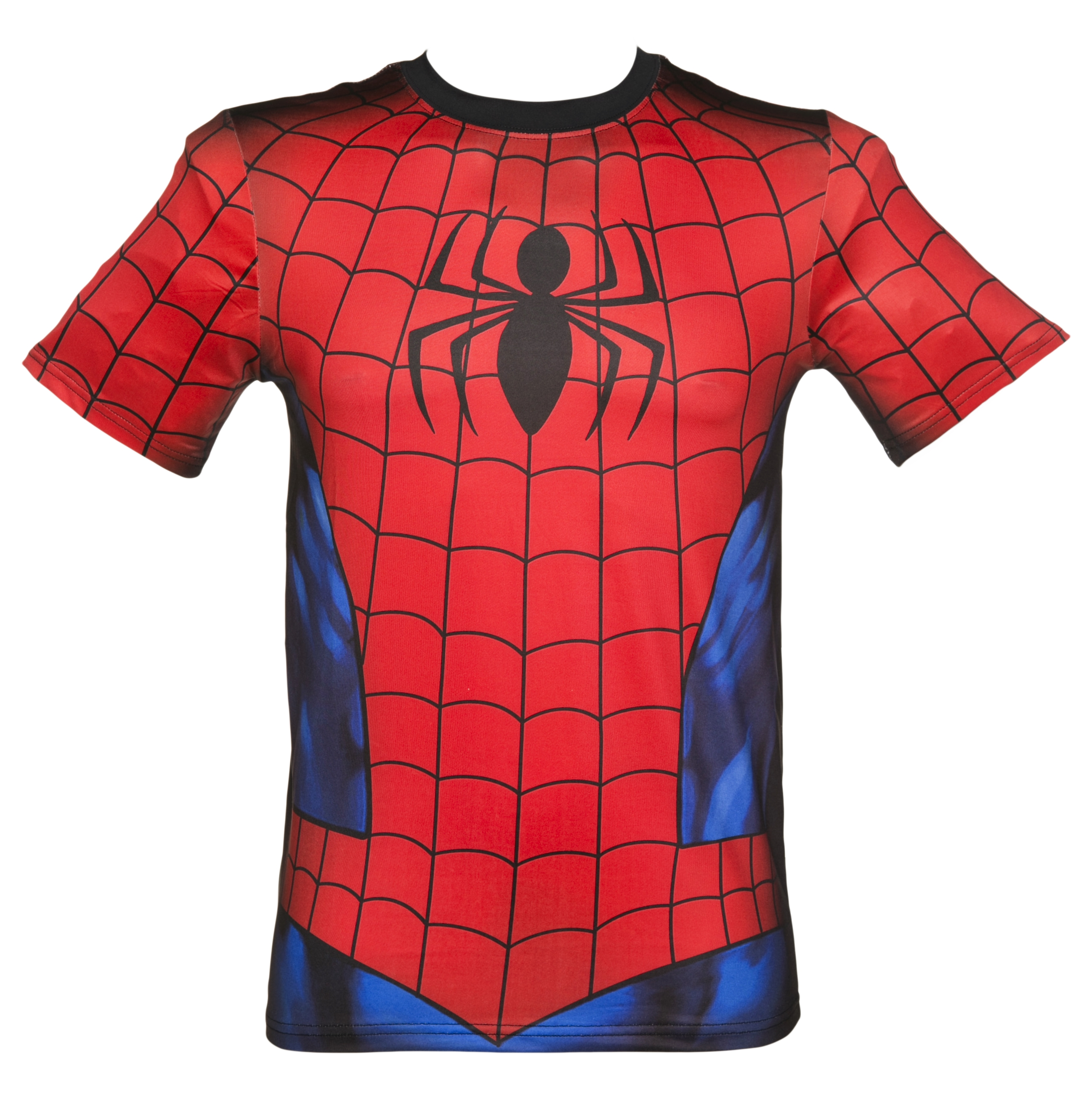 mens marvel spiderman costume t shirt. Black Bedroom Furniture Sets. Home Design Ideas