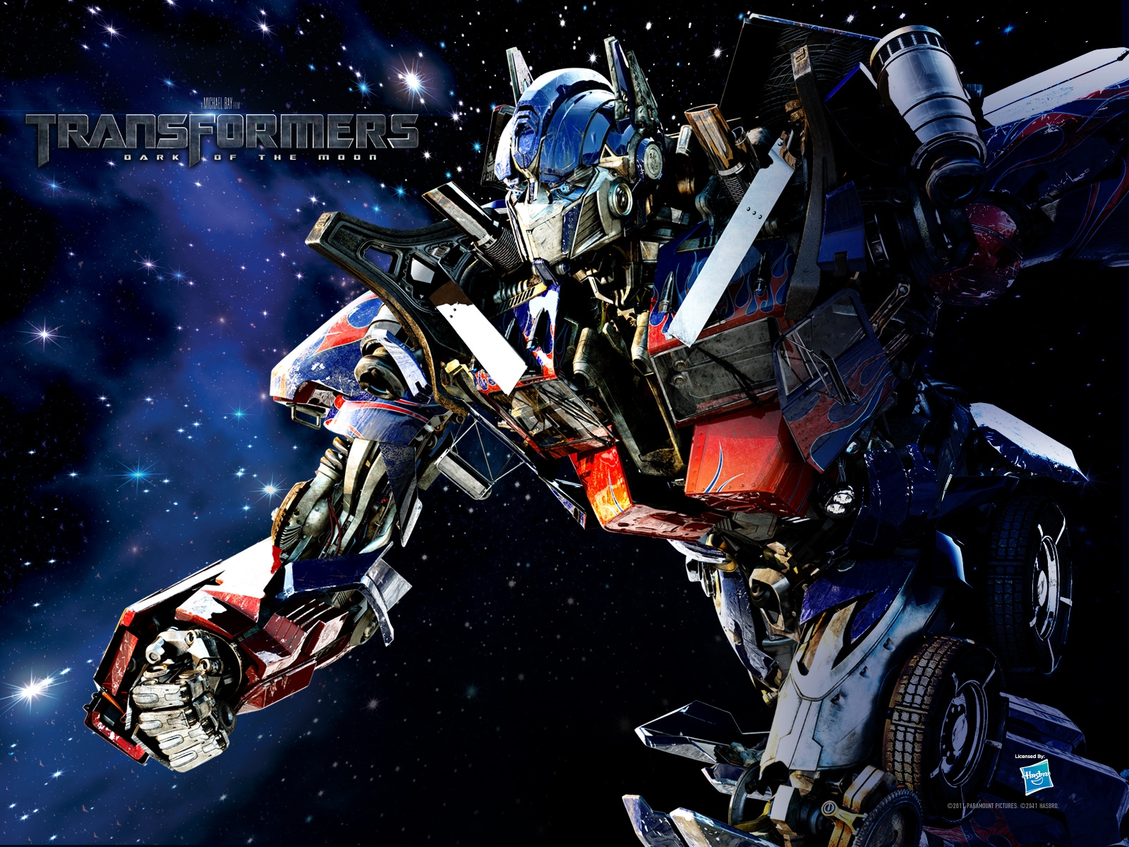 optimus prime dark of the moon wallpaper hd