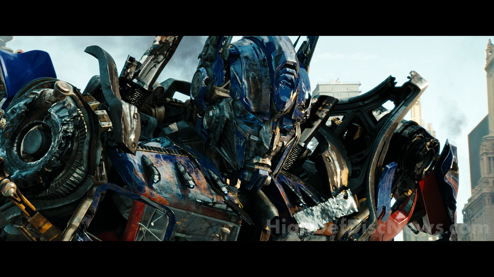 optimus prime face transformers hd