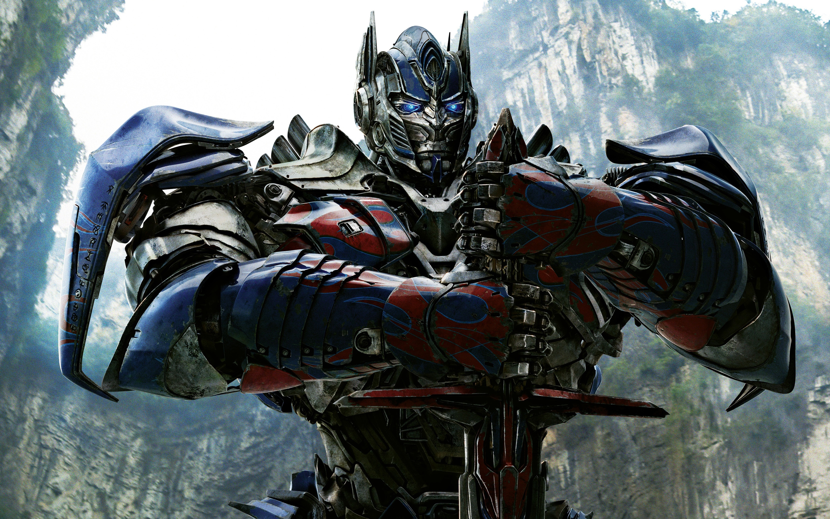 optimus prime in transformers 4 wide
