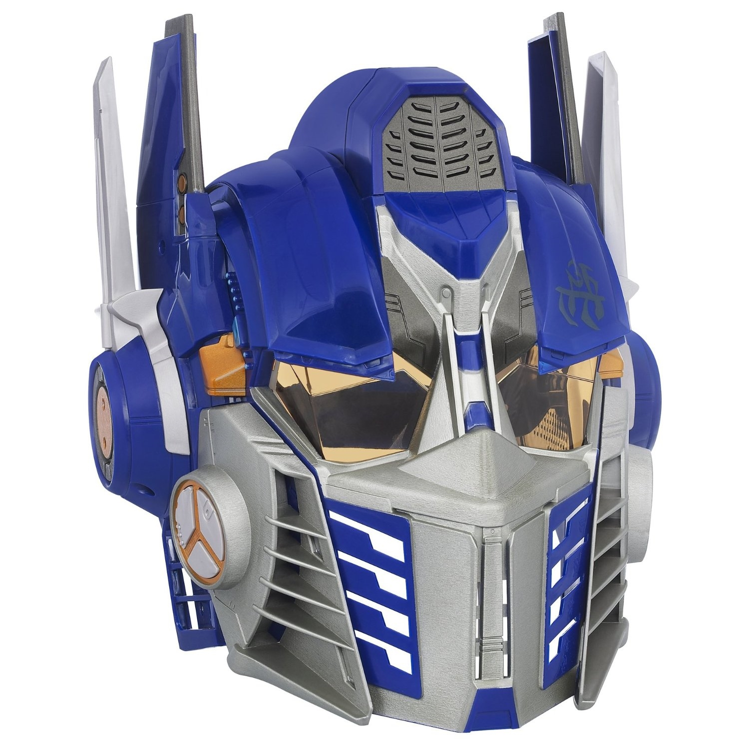 optimus prime transformer face mask helmet