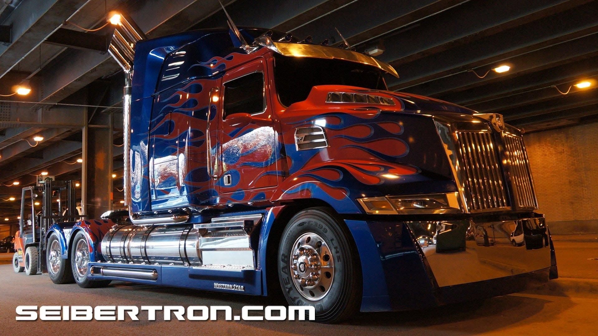 optimus prime transformer truck hd