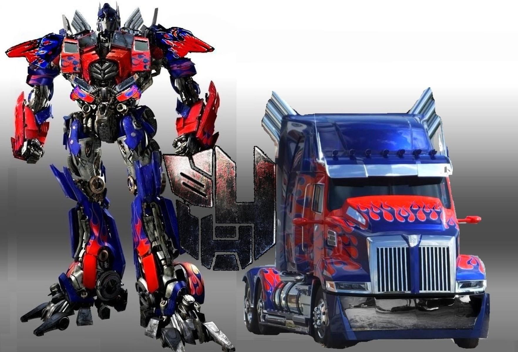 Optimus Prime Truck Autobots Transformers