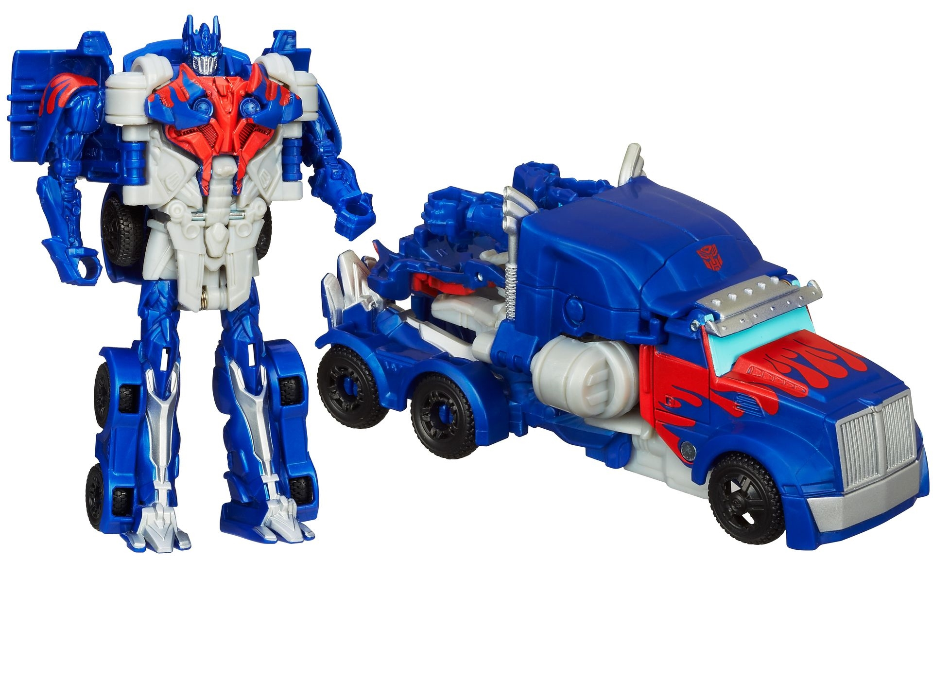 optimus prime truck toy