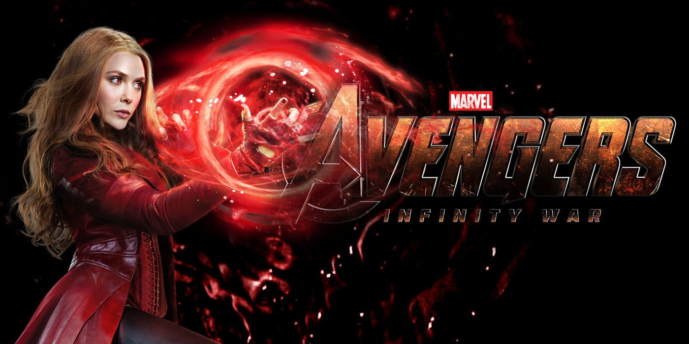 scarlet witch infinity war header marvel super hero hd wallpaper