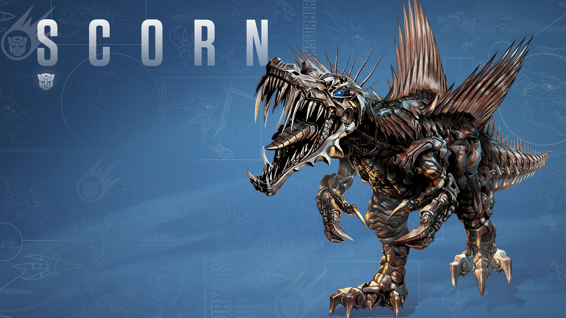 scorn dinobot transformers age of extinction