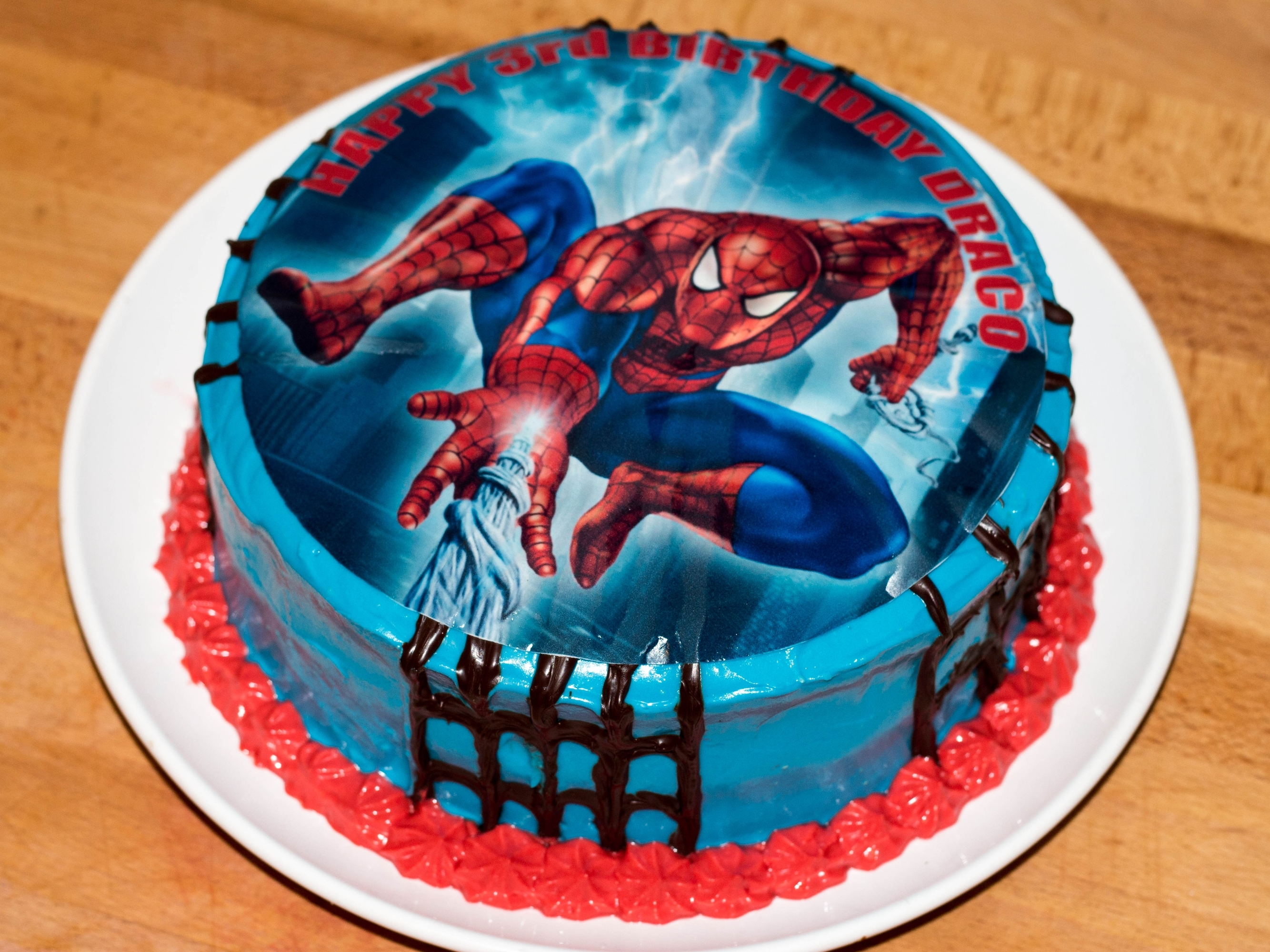spiderman cake 1
