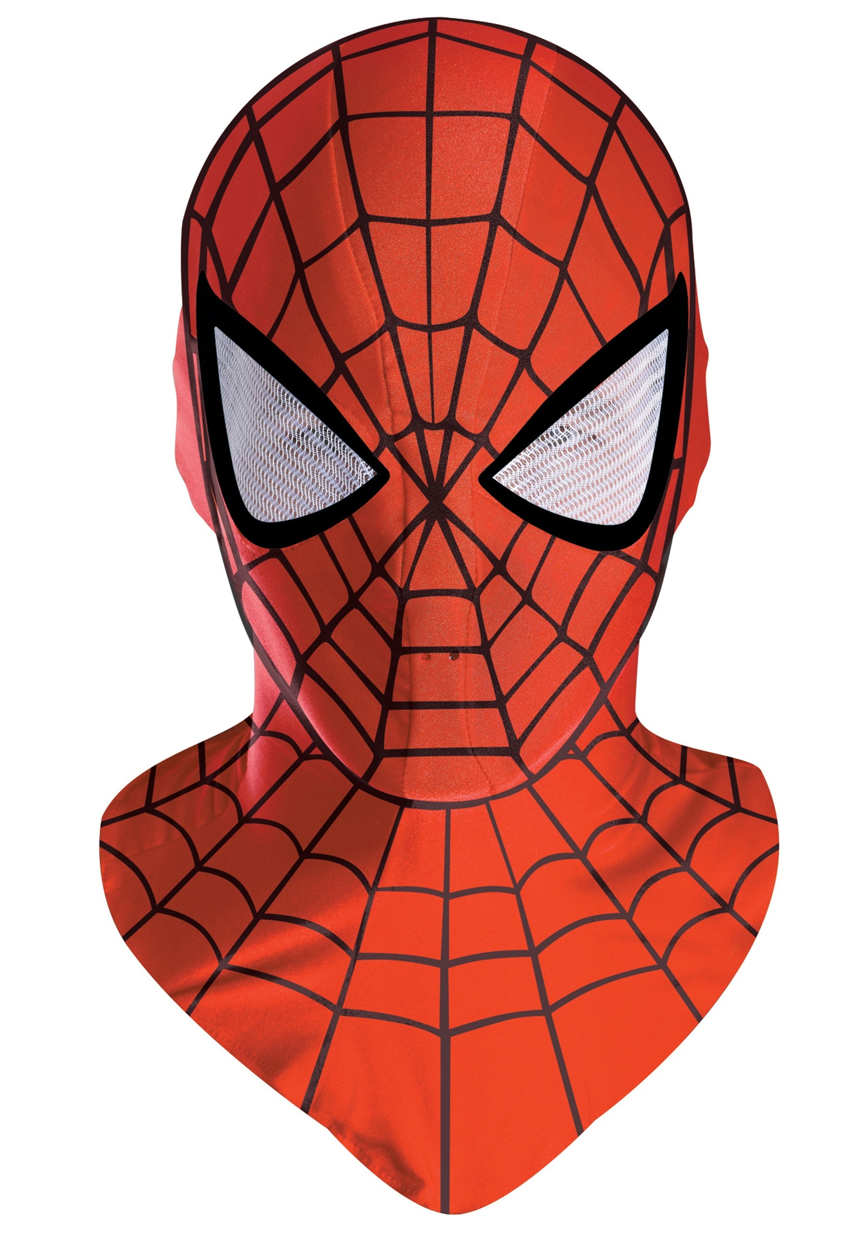 spiderman costume mask