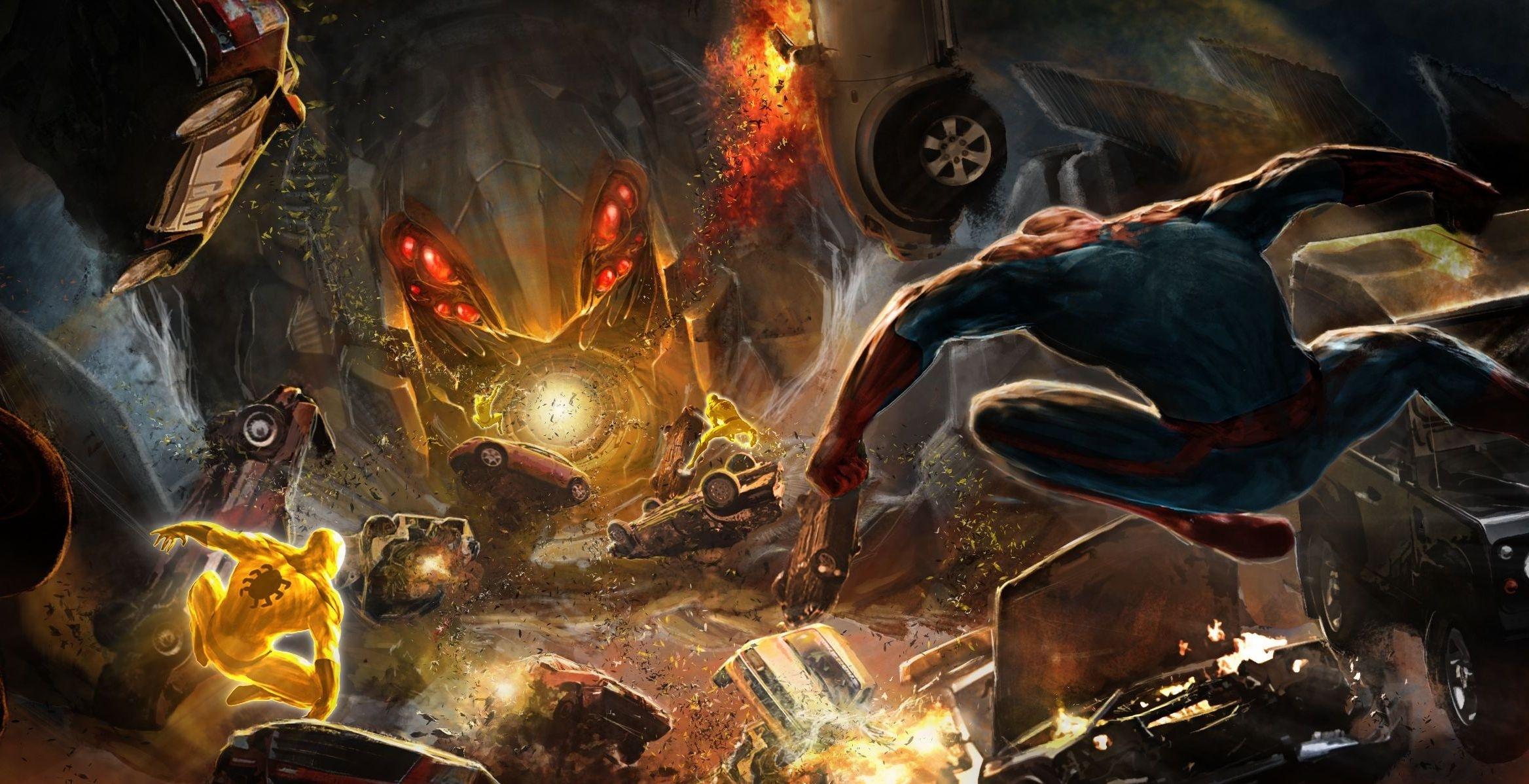 spiderman games wallpaper