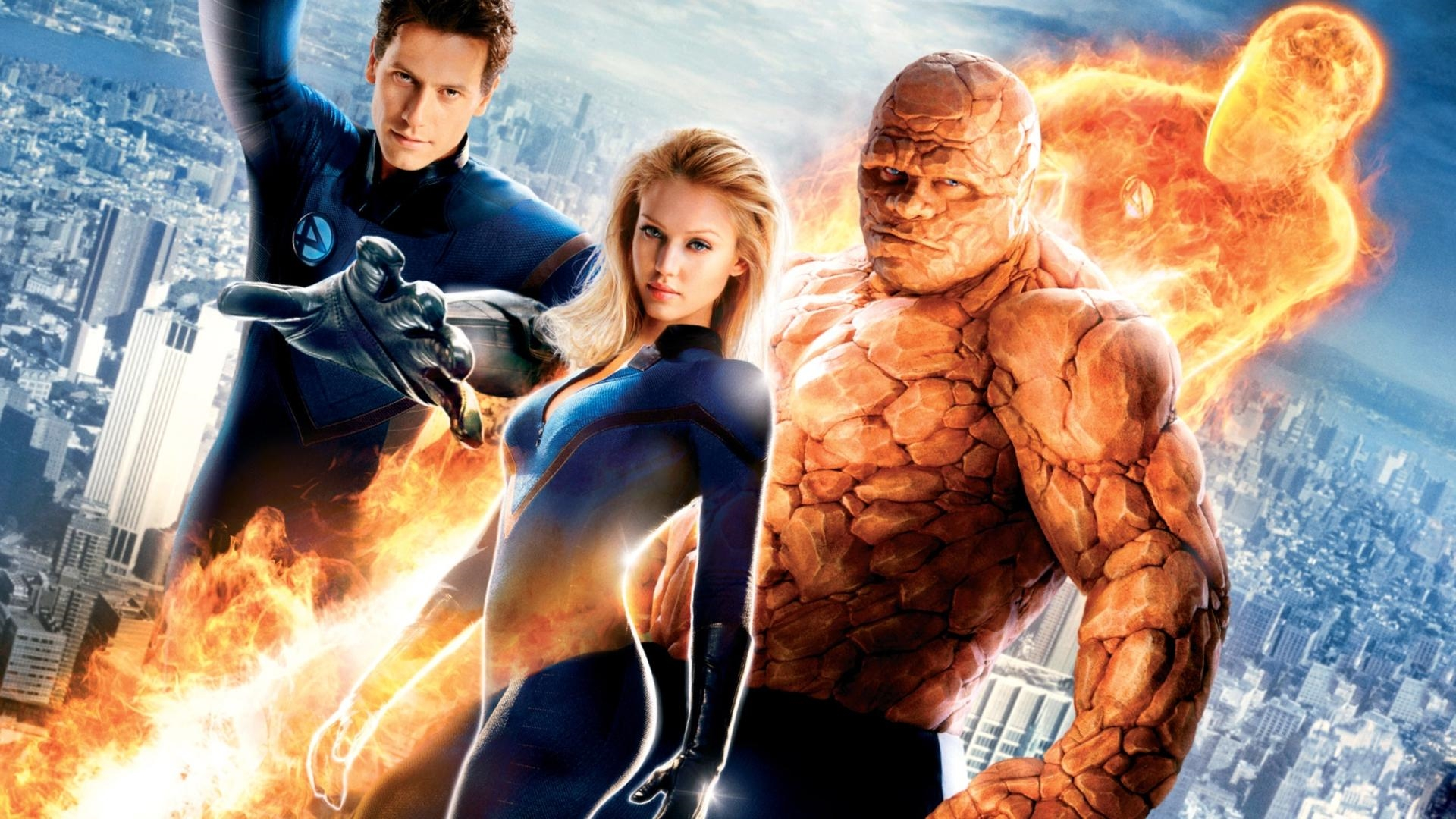 superheroes fantastic 4 team marvel thing free hd wallpaper
