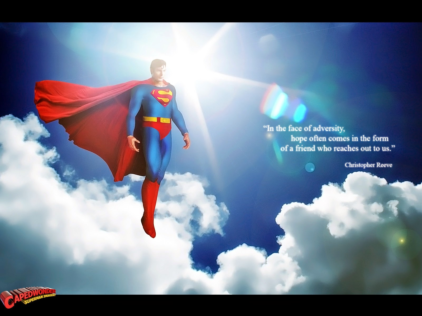 superman quote hd wallpaper