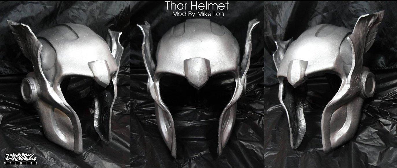 thor helmet by michaelloh d4yrxcu