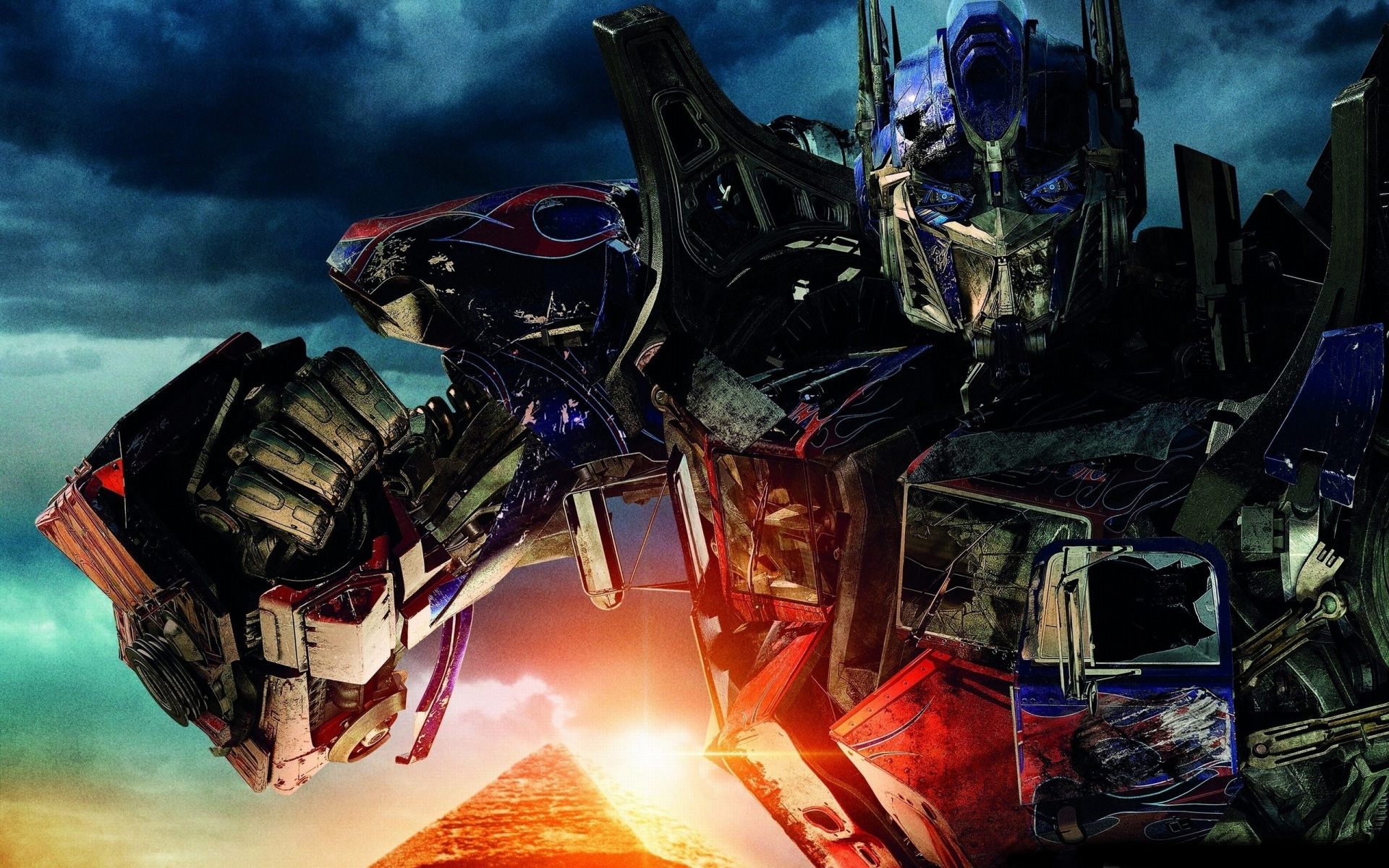 transformer optimus prime cybertron dark of the moon wallpaper