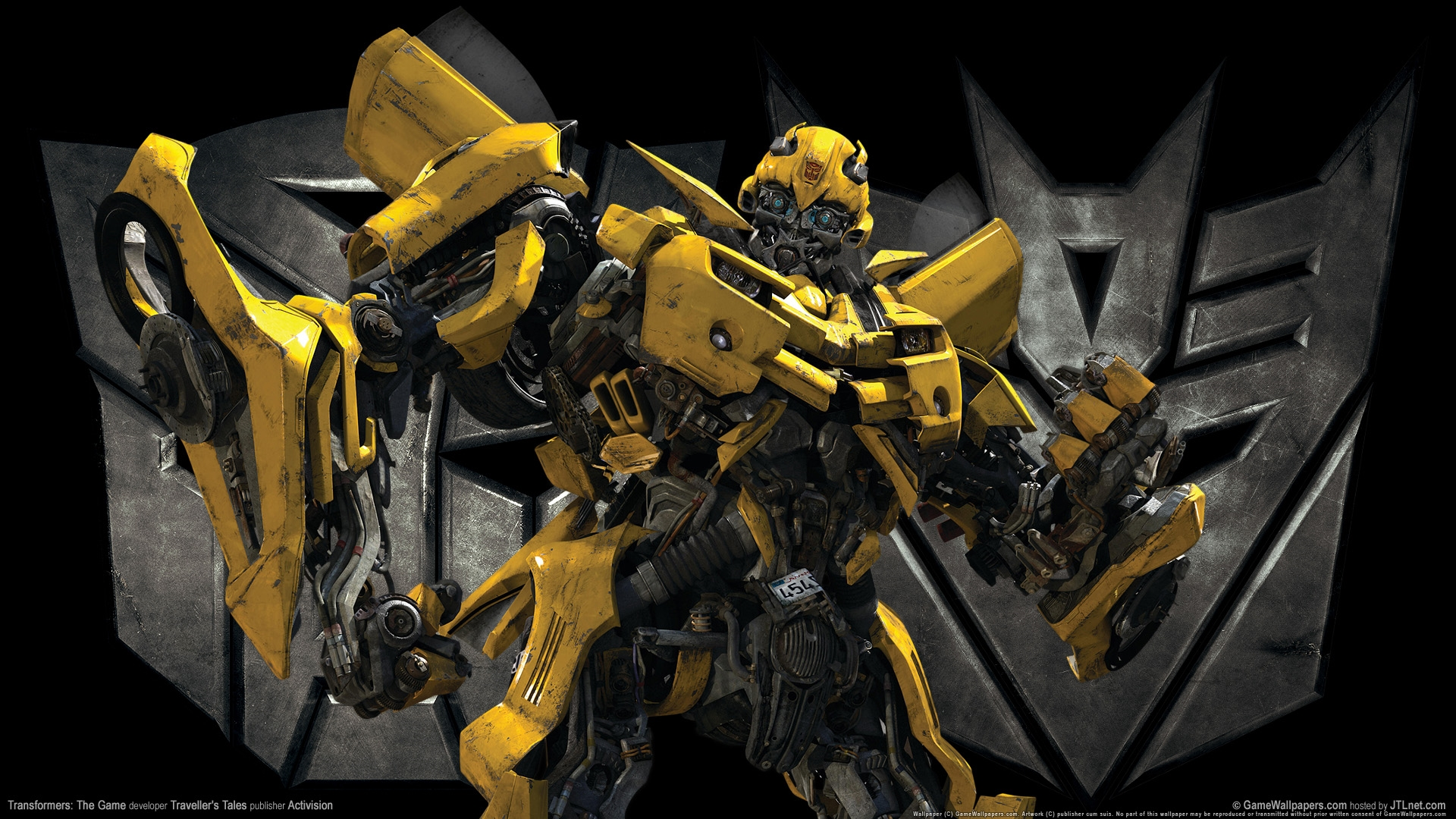 transformers the game bumble bee hd