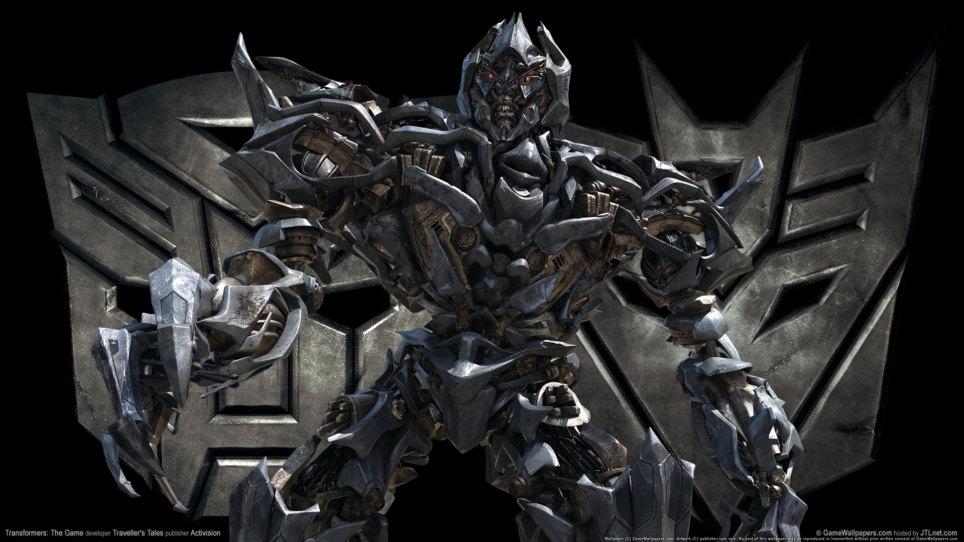 transformers the game megatron hd