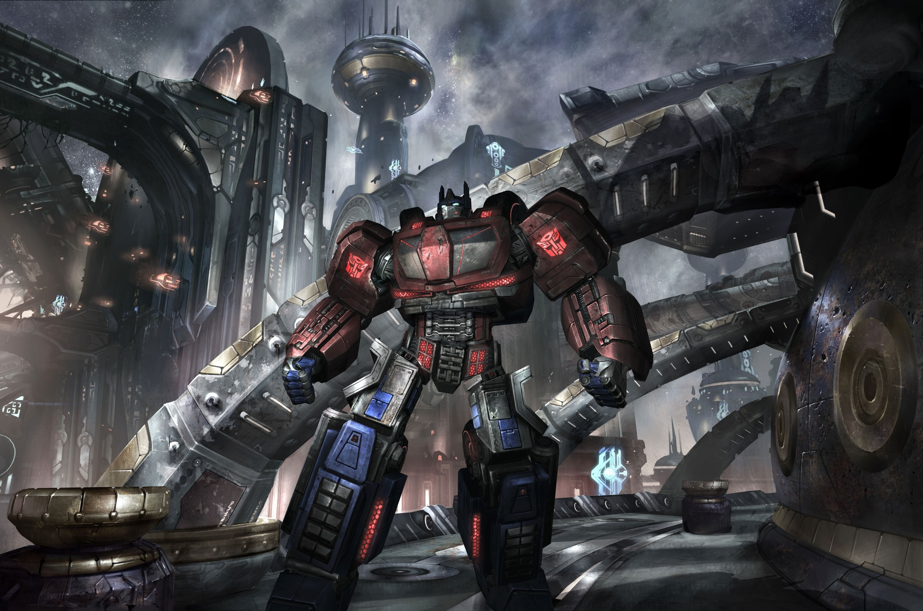 Transformers War For Cybertron Optimus Prime Wallpaper