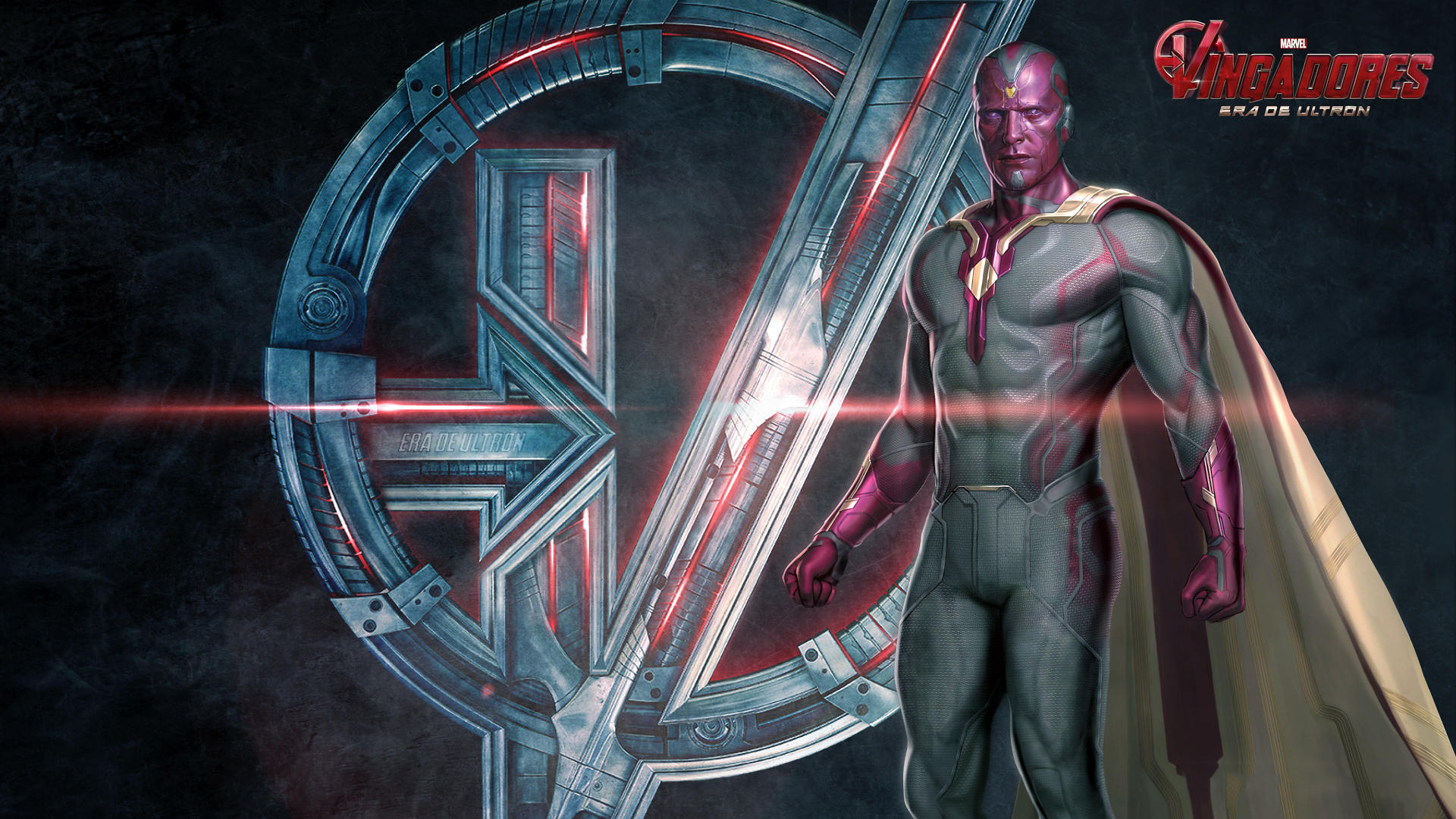 vision marvel avengers super hero latest hd wallpaper