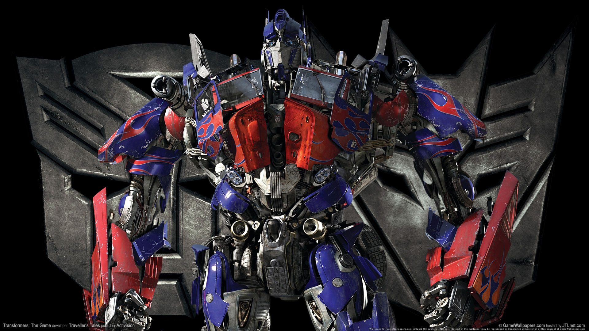 wallpaper free hd optimus prime transformer