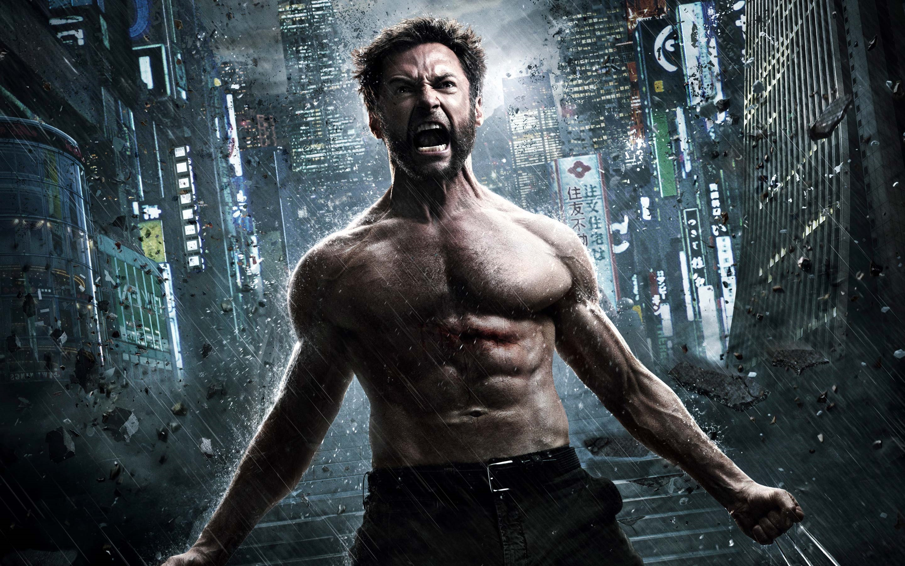 wolverine hugh jackman x men hd wallpaper
