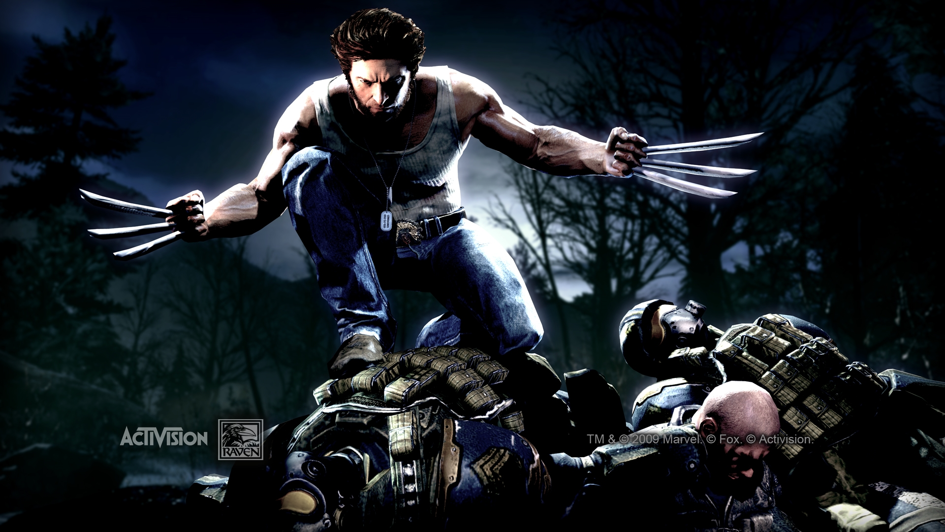 x men origins wolverine game