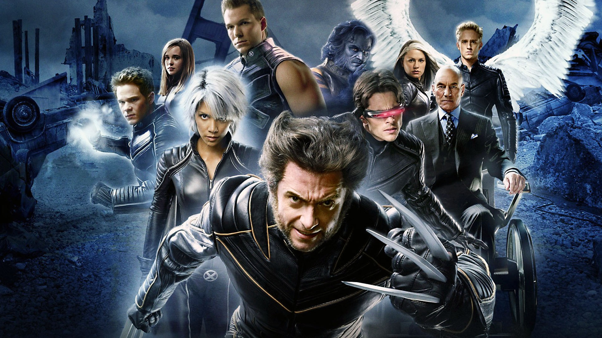 x men the last stand original wallpaper hd