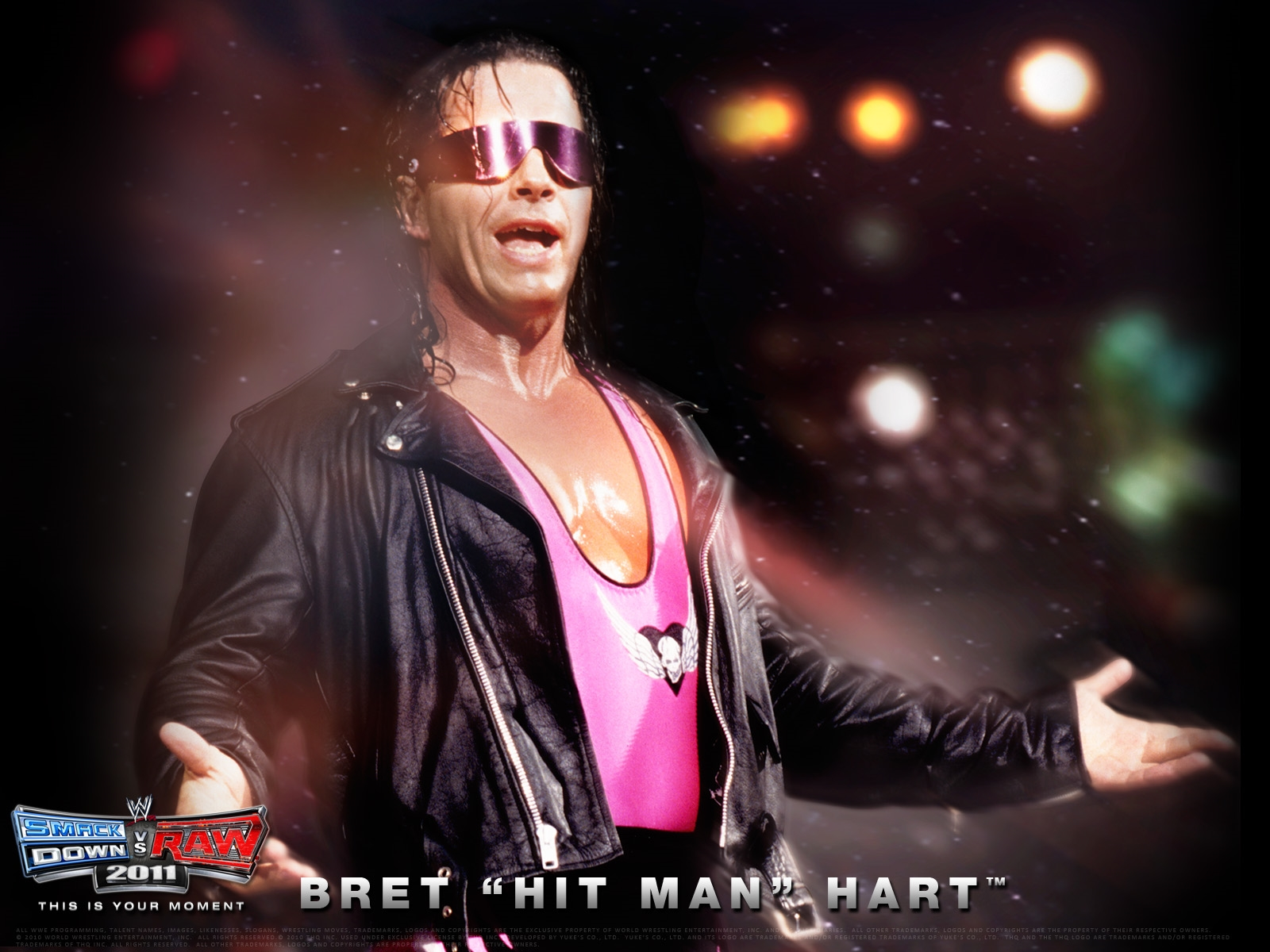 bret hart hit man hd free wwe