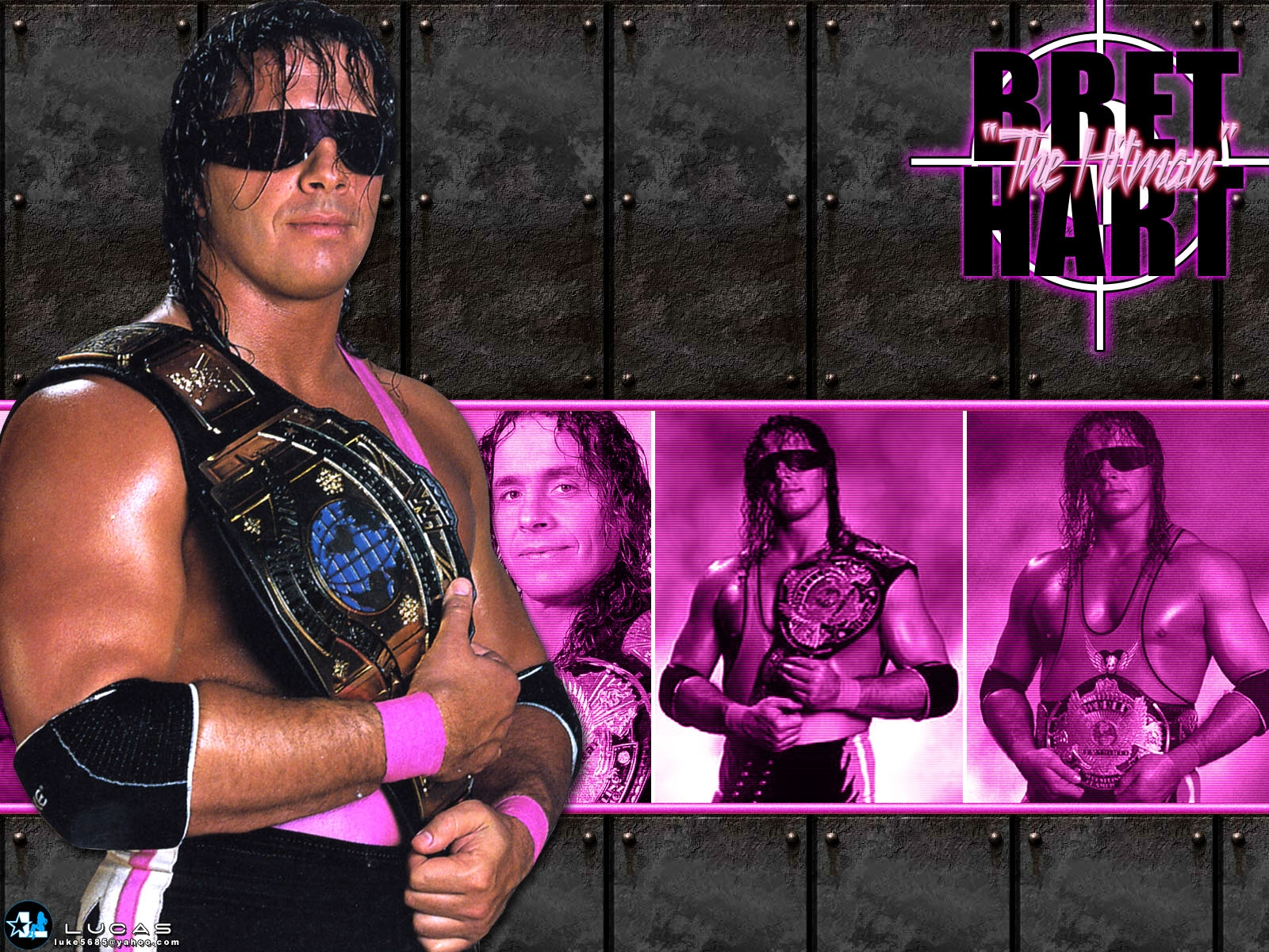 bret hart wallpaper 2