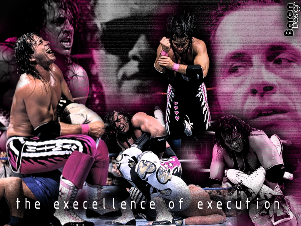 bret the hitman hart sharp shooter wallpaper