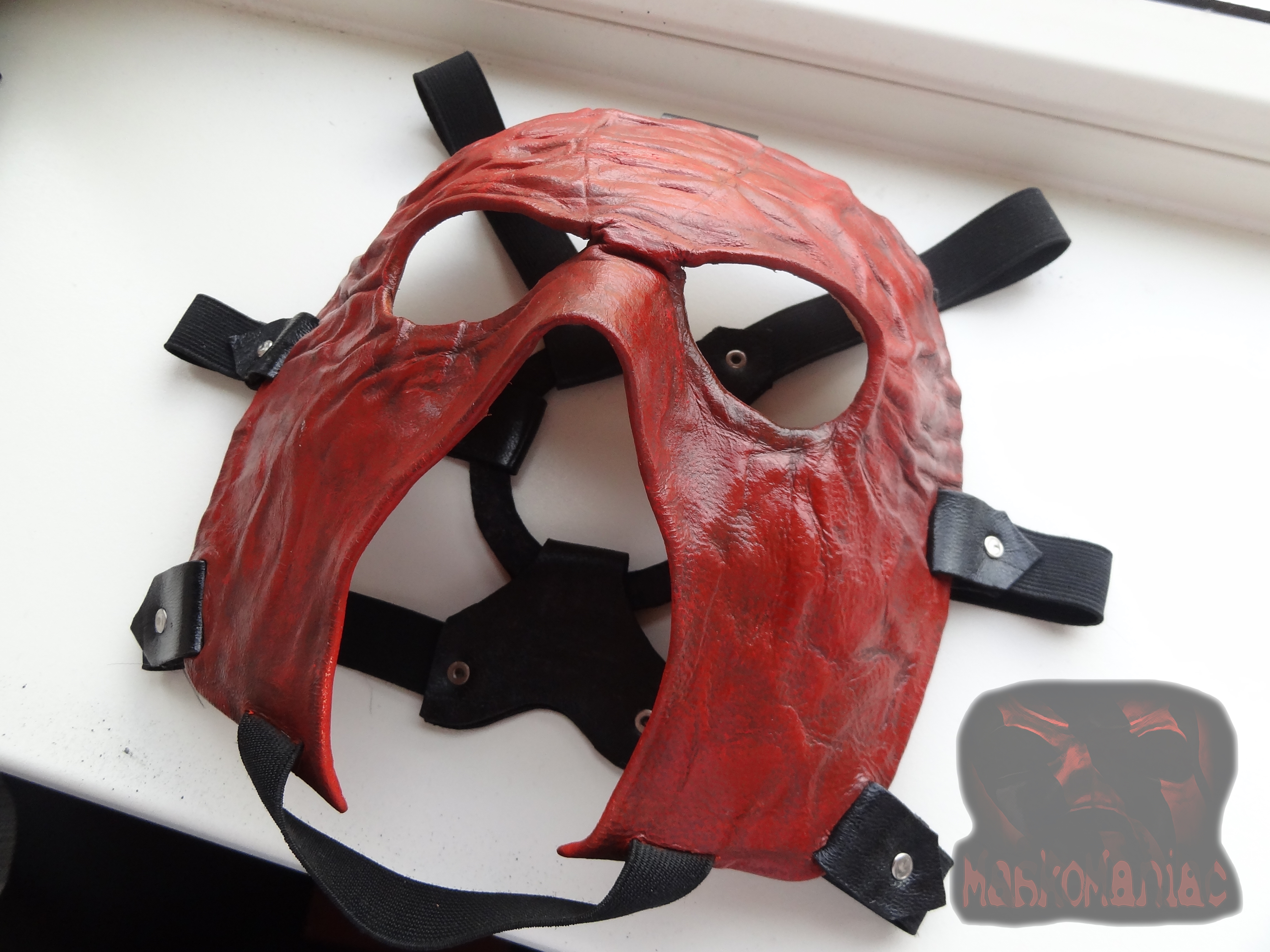 handmade wwe superstar kane mask