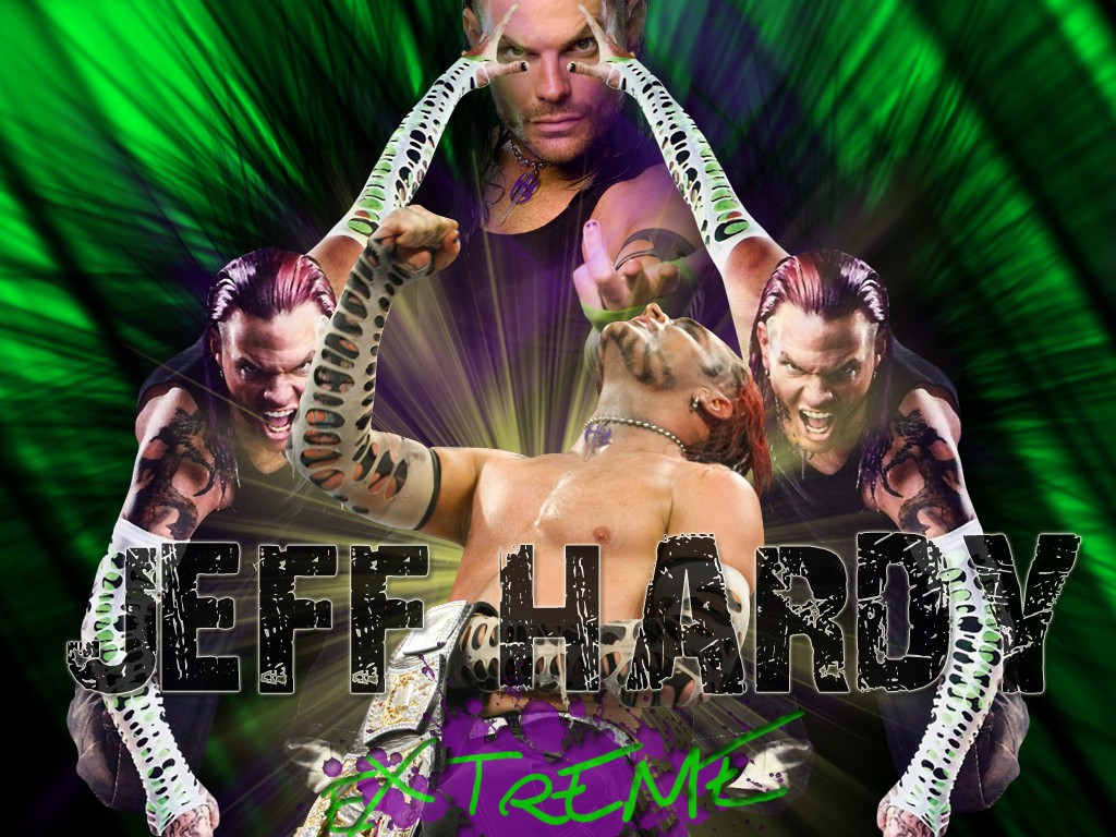 jeff hardy extreme wwe superstar hd wallpaper