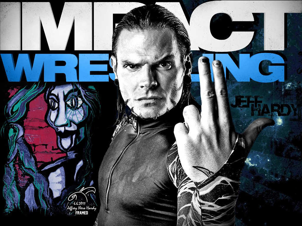 jeff hardy impact wwe superstar hd wallpaper