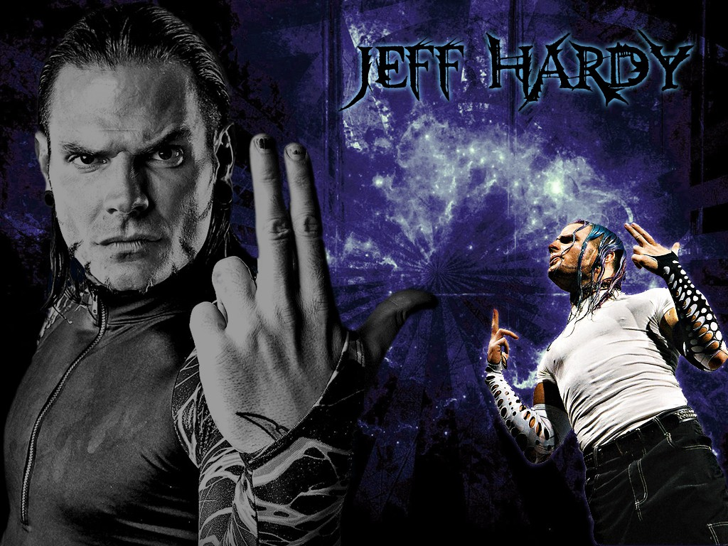 jeff hardy wwe superstar 3d hd wallpaper