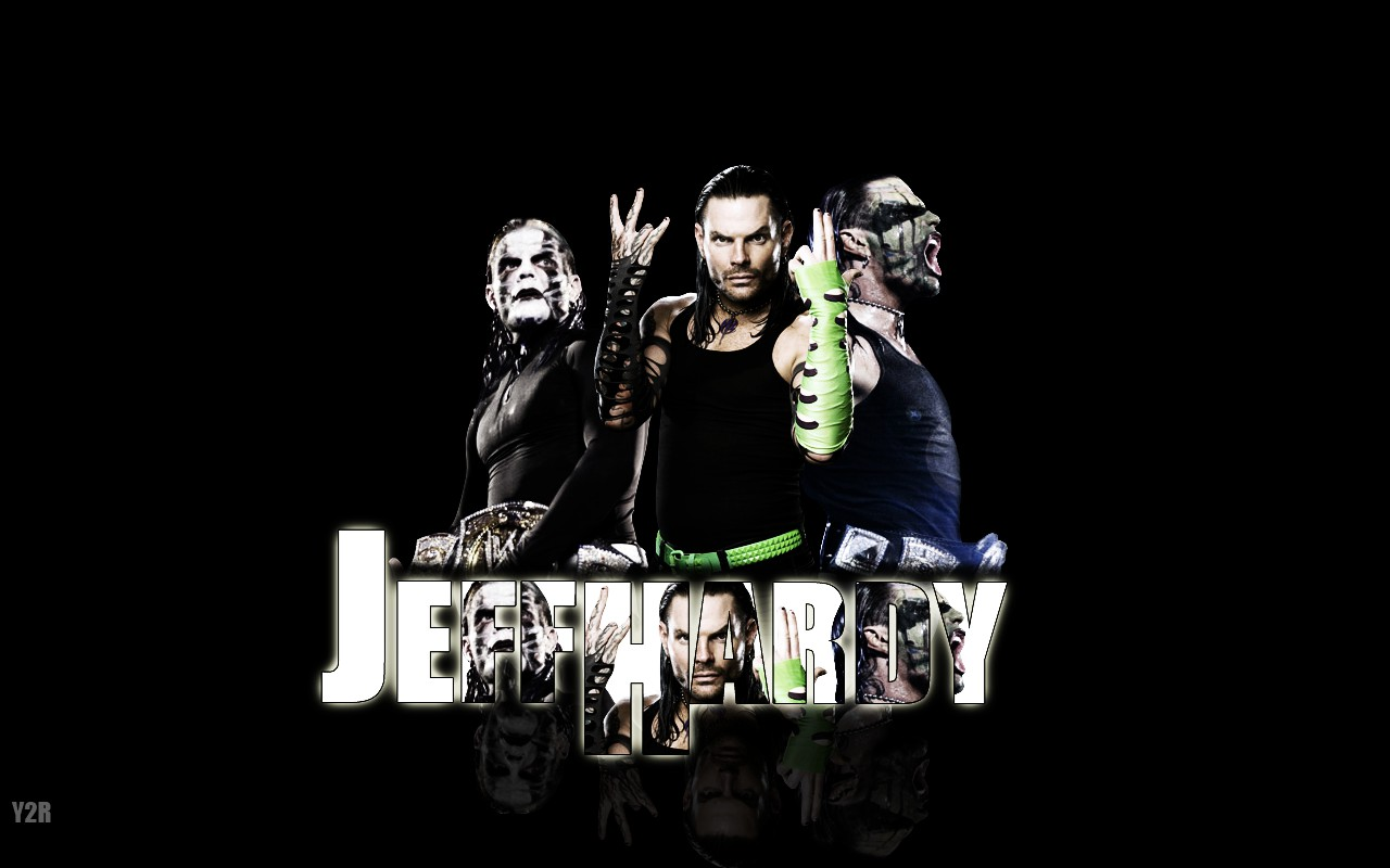 jeff hardy wwe superstar 3d wallpaper hd