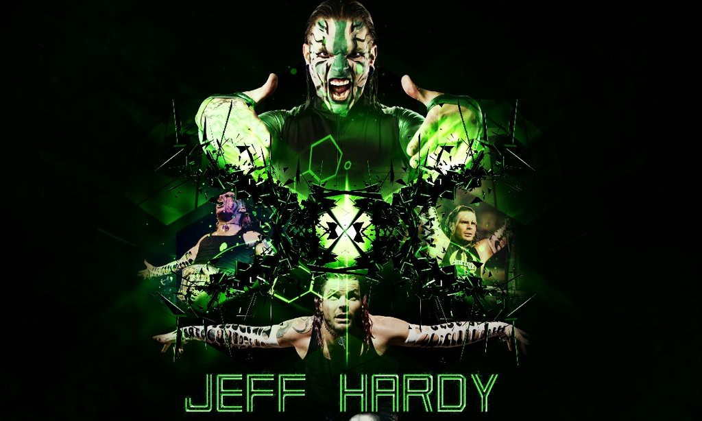 jeff hardy wwe superstar background hd wallpaper